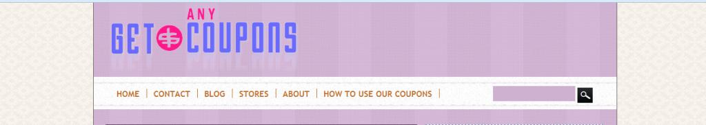 Using Getanycoupons.com Search